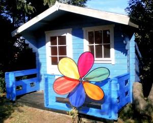 Garten Hütte - Leucht Kugel (Andreas Rabe)